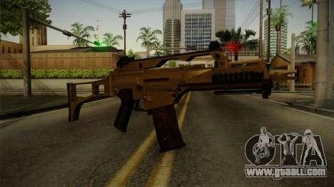 HK G36C v4 for GTA San Andreas second screenshot