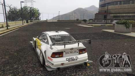 GTA 5 Opel Calibra DTM rear left side view