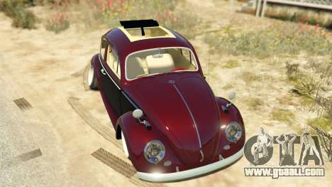 GTA 5 Volkswagen Beetle back view
