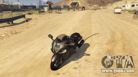 Suzuki Hayabusa GSX1300 2015 for GTA 5