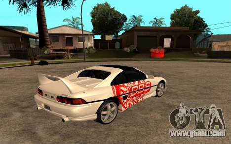 Toyota MR2 GT for GTA San Andreas right view