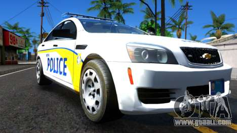 Chevy Caprice Metro Police 2013 for GTA San Andreas right view