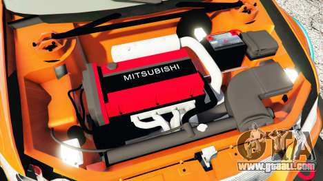 Mitsubishi Lancer Evolution IX Stormtrooper [r] for GTA 5