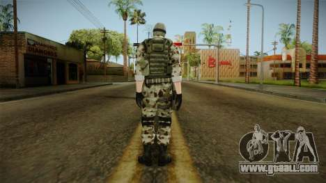 Resident Evil ORC Spec Ops v2 for GTA San Andreas