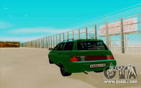 VAZ 2111 for GTA San Andreas left view