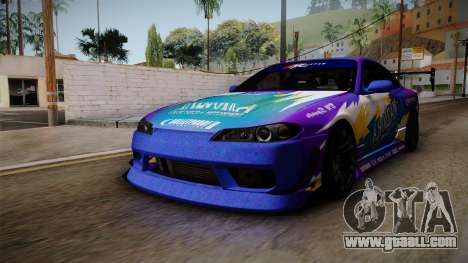 Nissan Silvia S15 BN-Sports for GTA San Andreas right view