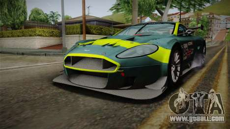 Aston Martin Racing DBRS9 GT3 2006 v1.0.6 Dirt for GTA San Andreas wheels