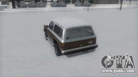 Rancher Winter IVF for GTA San Andreas right view