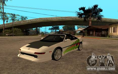 Toyota MR2 GT for GTA San Andreas back view