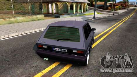 Yugo Koral 45 Sport Tuning for GTA San Andreas back left view