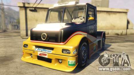 Ftruck Mercedes L Series v2 for GTA 5