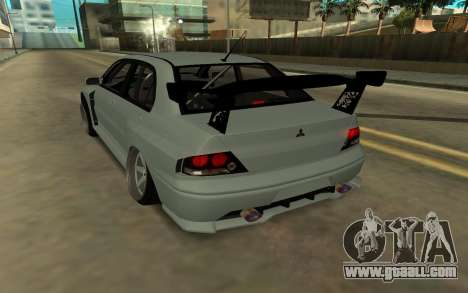 Mitsubishi Lancer Evo9 for GTA San Andreas left view
