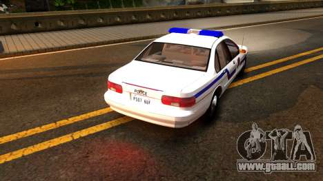 Chevy Caprice Hometown Police 1996 for GTA San Andreas right view