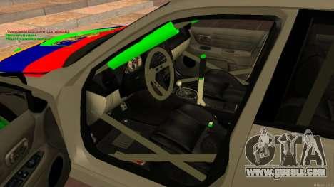 Toyota Altezza Armenian for GTA San Andreas right view