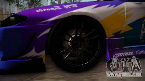 Nissan Silvia S15 BN-Sports for GTA San Andreas back view