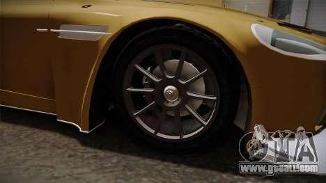 Aston Martin Racing DBRS9 GT3 2006 v1.0.6 YCH for GTA San Andreas back view