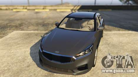 GTA 5 Kia Cadenza 2017 back view