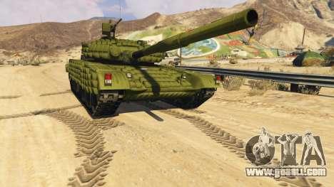Tank T-72 for GTA 5