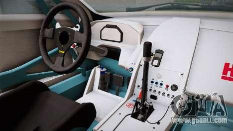 Aston Martin Racing DBRS9 GT3 2006 v1.0.6 YCH for GTA San Andreas inner view