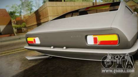 Maserati Ghibli v0.1 (Beta) for GTA San Andreas back left view