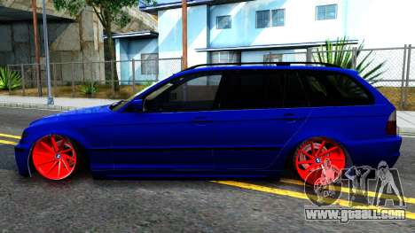 BMW E46 Touring Facelift for GTA San Andreas left view