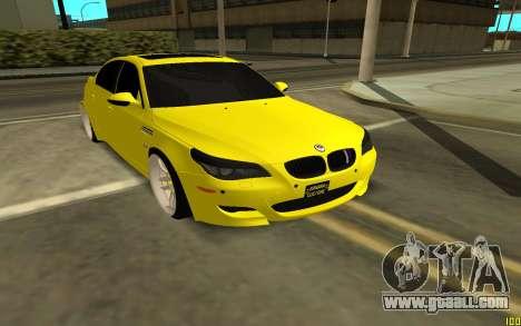 BMW 5 Series E60 for GTA San Andreas