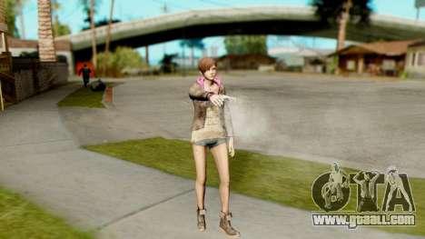 Resident Evil Revelations 2 - Moira Burton for GTA San Andreas third screenshot