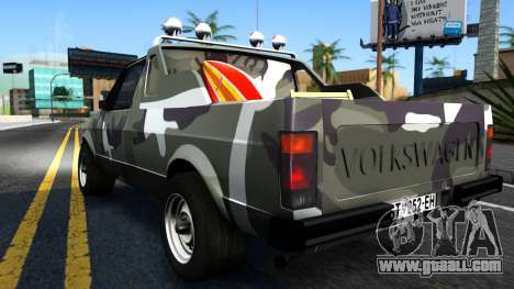 Volkswagen Caddy for GTA San Andreas right view