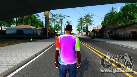 Mix T-Shirt for GTA San Andreas third screenshot