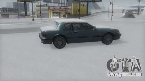 Bravura Winter IVF for GTA San Andreas back left view