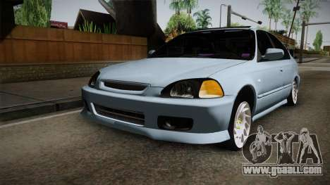 Honda Civic Turbo for GTA San Andreas right view