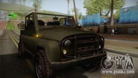УАЗ-3151 CoD4 MW Remastered IVF for GTA San Andreas side view