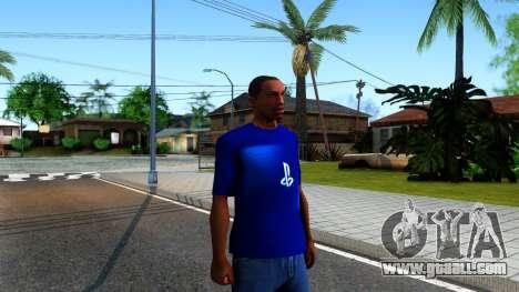 T-Shirt PS4 for GTA San Andreas second screenshot