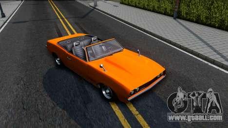 GTA V Declasse Vigero Retro Rim for GTA San Andreas right view