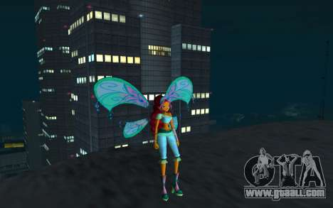 Aisha Believix from Winx Club Rockstars for GTA San Andreas