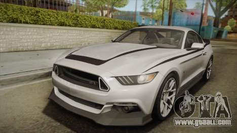 Ford Mustang RTR Spec 2 2015 for GTA San Andreas