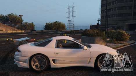 GTA 5 Mitsubishi 3000GT left side view