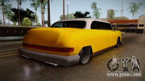 Custom Cab for GTA San Andreas left view