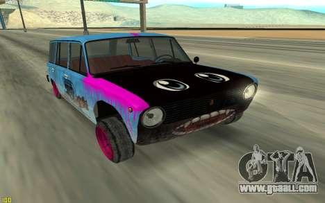 VAZ 2101 Winter drifter for GTA San Andreas