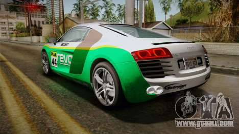 Audi R8 Coupe 4.2 FSI quattro EU-Spec 2008 YCH for GTA San Andreas interior