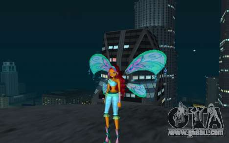 Aisha Believix from Winx Club Rockstars for GTA San Andreas second screenshot