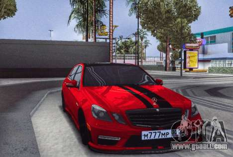 Mercedes-Benz E63 (W212) AMG 2010 for GTA San Andreas back left view