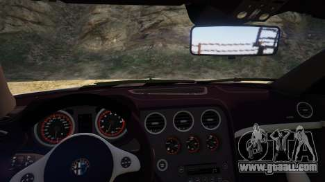 GTA 5 Alfa Romeo Spider 939 (Brera) back view