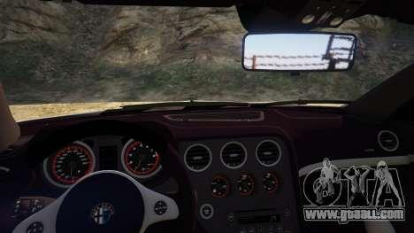 Alfa Romeo Spider 939 (Brera) for GTA 5