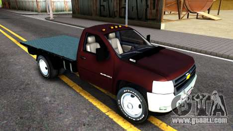 Chevrolet HD 3500 2013 for GTA San Andreas left view