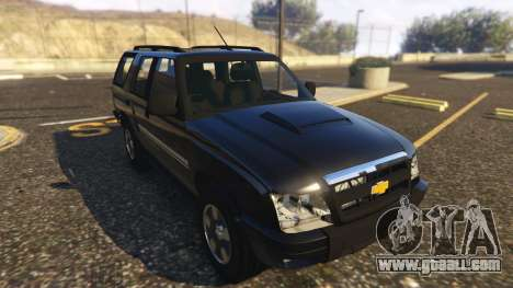 GTA 5 Chevrolet Blazer 4x4 back view