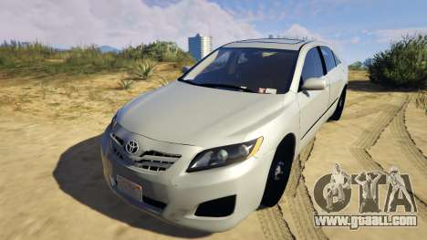 GTA 5 Toyota Camry 2011 DoN DoN Edition back view