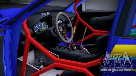 Subaru Impreza WRX STI WRC Rally 2005 for GTA San Andreas back view