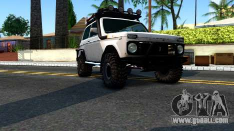 Lada Niva 4x4 Off Road for GTA San Andreas right view