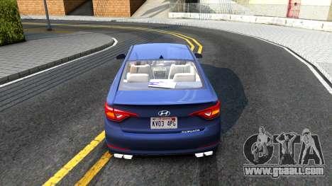 Hyundai Sonata 2016 for GTA San Andreas right view